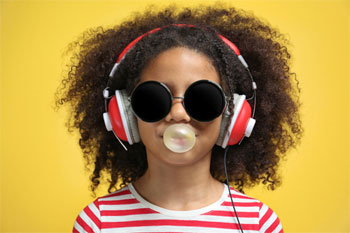 Child Listening to Music Suffering from Noise Induced Hearing Loss in Philadelphia
