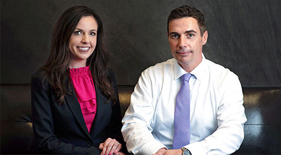 Jen Sweeney, Co-founder and Shawn Guido, Co-founder, B.S.-HIS/IHS