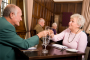 Older Adults with Hearing Loss Dining in a Restaurant