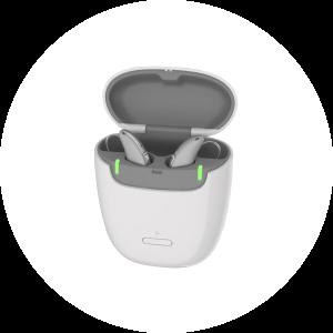Signia portable charger AX RIC
