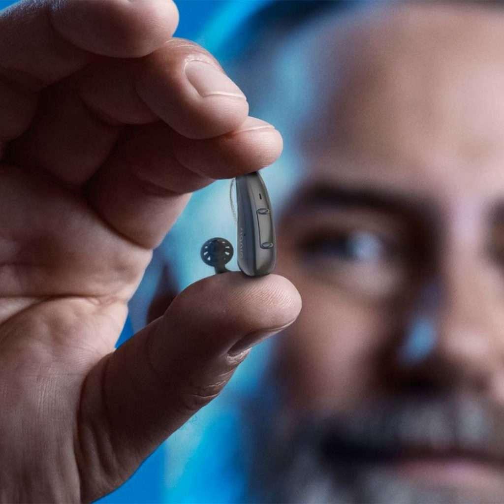 Signia Pure Charge&Go AX hearing aid
